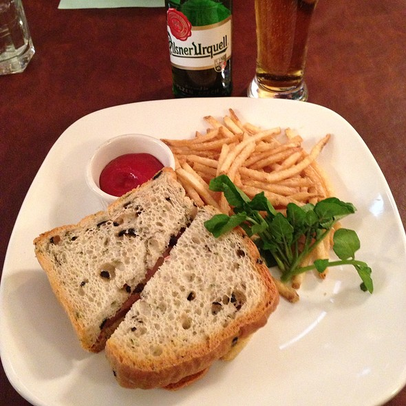 Pate Sandwich @ La Petite Creperie