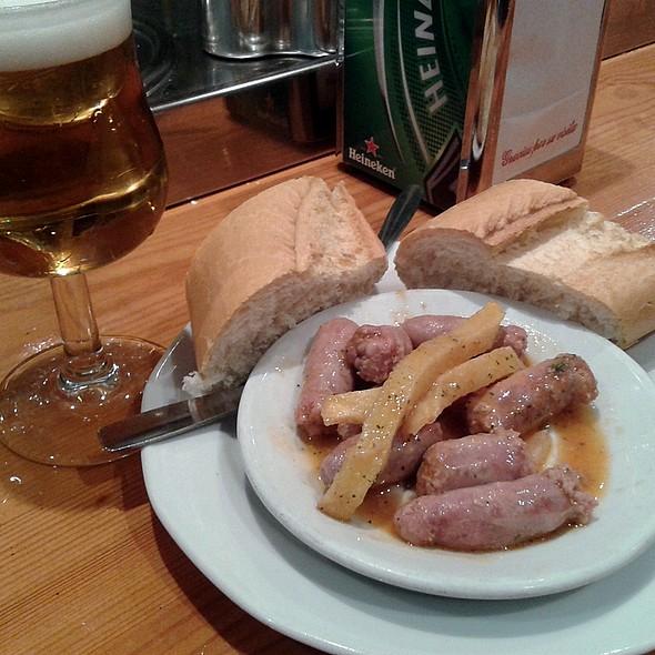 Beer and tapa @ El Rincón Abulense