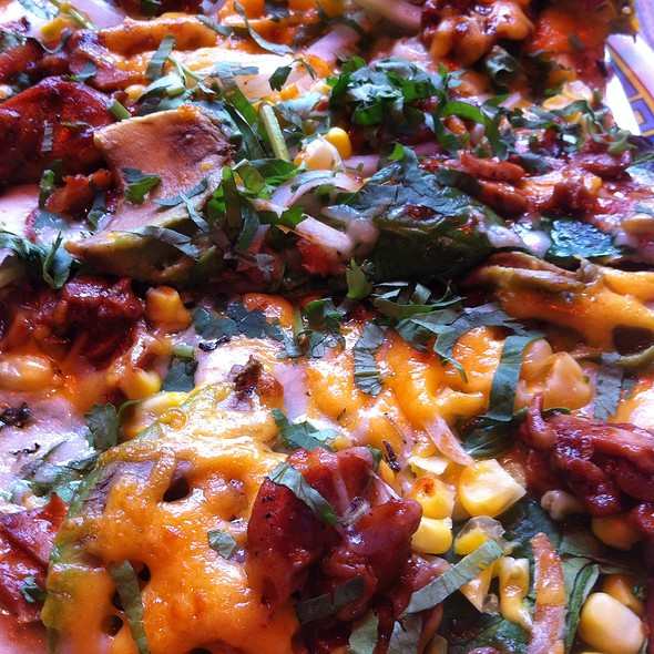 Barbecue Chicken Pizza @ Joe Squared