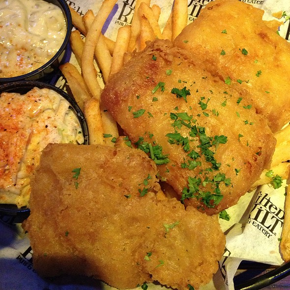 Maggie Mae's Fish & Chips @ Tilted Kilt Pub & Eatery