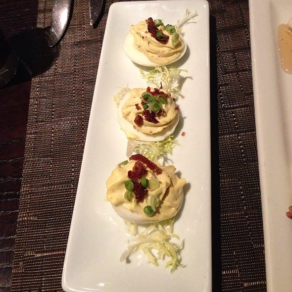 Deviled Eggs With Crispy Proscuitto - Boulevard Bistro, Elk Grove, CA