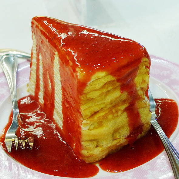 Crepe Cake @ Secret Garden CentralWorld