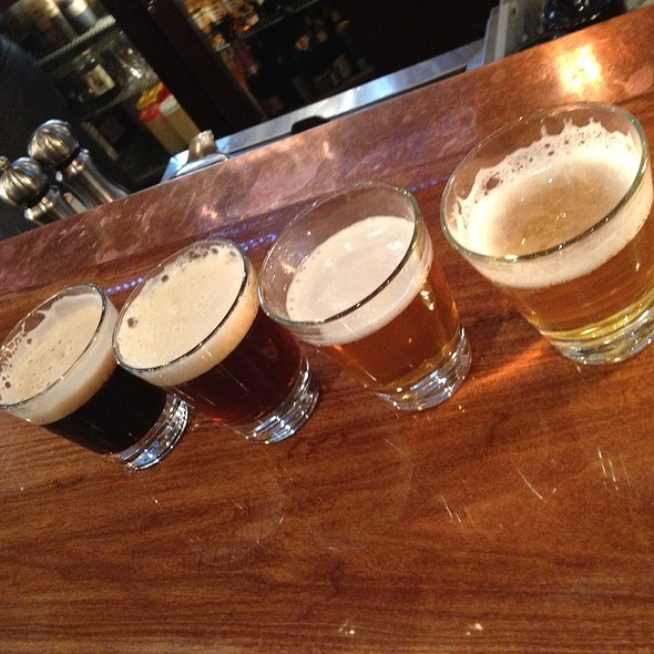 Beer Flight - Red Star, Portland, OR