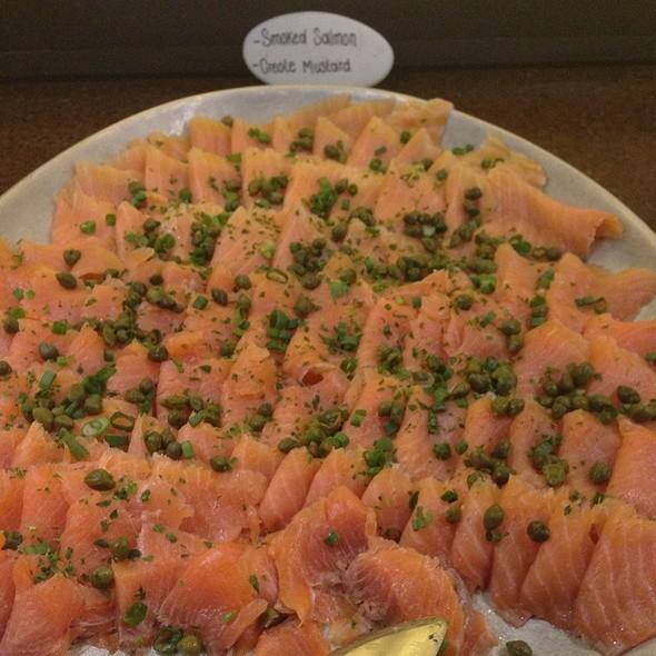 Smoked salmon - Texas de Brazil - Tampa, Tampa, FL