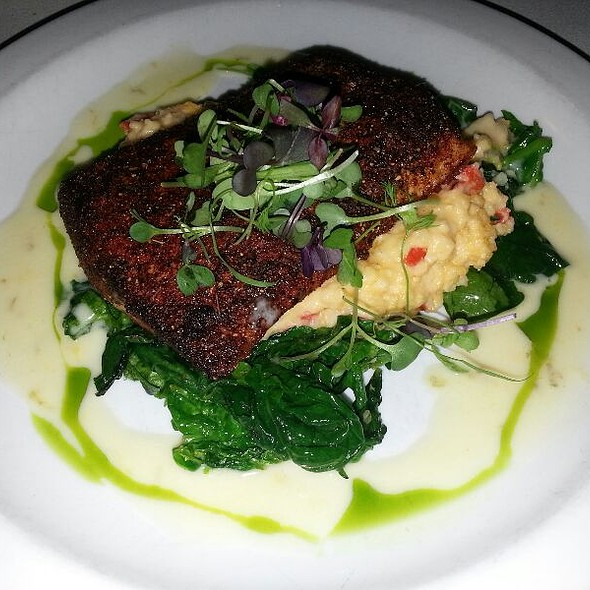 Blackened Salmon - Milton's Cuisine and Cocktails, Alpharetta, GA