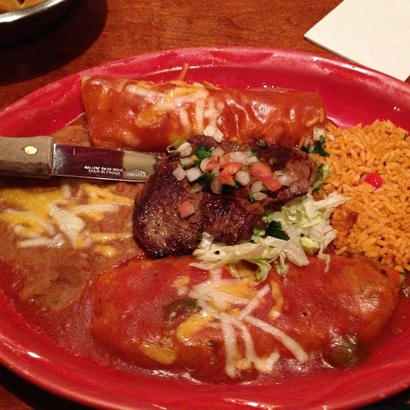 Pancho Villa Plate - Guadalajara Fiesta Grill, Tucson, AZ