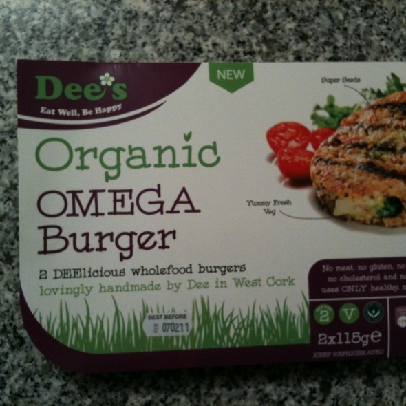 Omega Burger @ The Hopsack