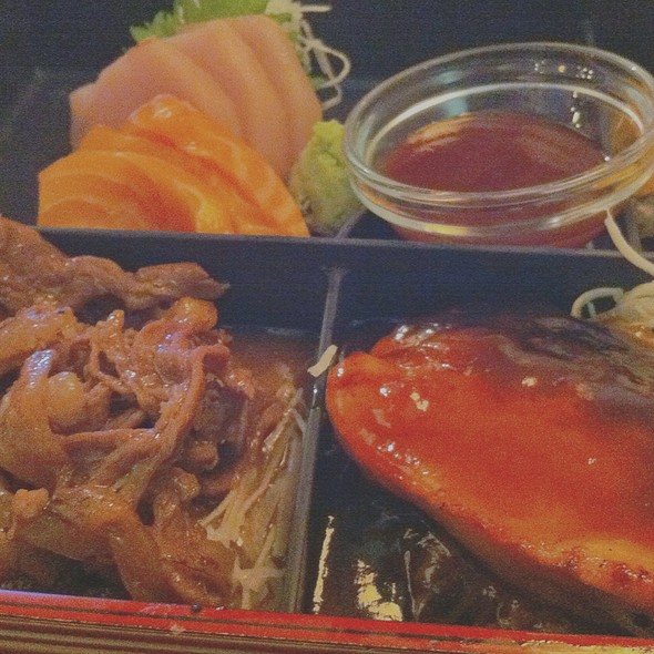 Deluxe Bento Box - Mikado Japanese Cuisine - Southside, Edmonton, AB