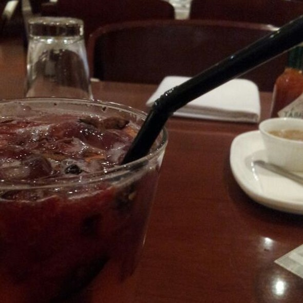 Plum and star anise cooler @ Smoke House Deli