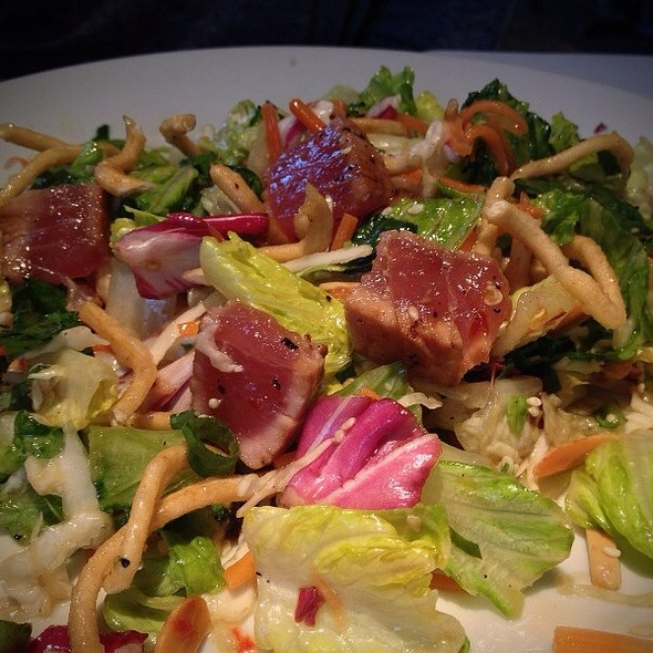 Asian Ahi Tuna Salad @ Zea Rotisserie & Grill