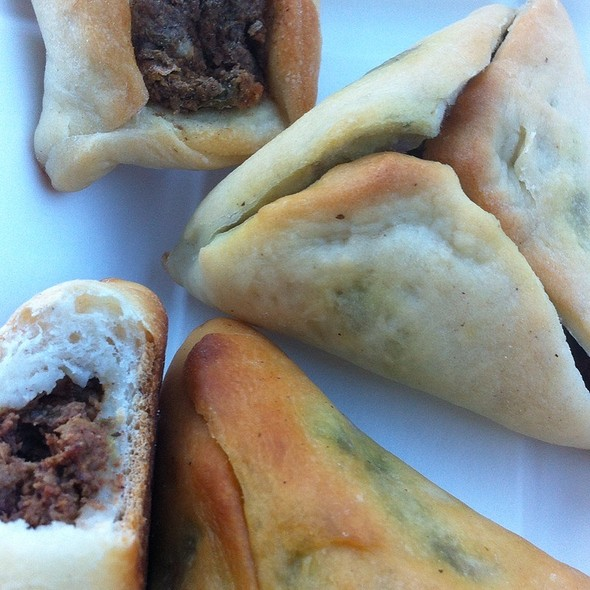 Meat Pies And Spinach Pies - Ali Baba, South San Francisco, CA