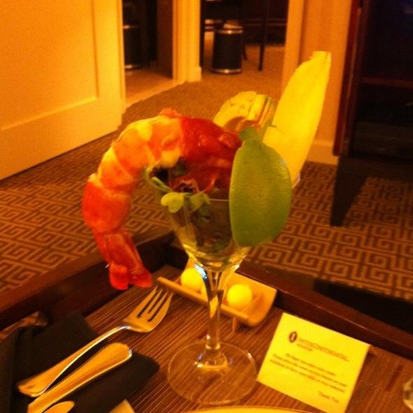 Shrimp Cocktail - ARA restaurant at Royal Sonesta Hotel Houston, Houston, TX