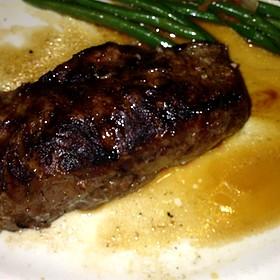 Dry Aged Steak Au Poivre With Courvoisier Cream