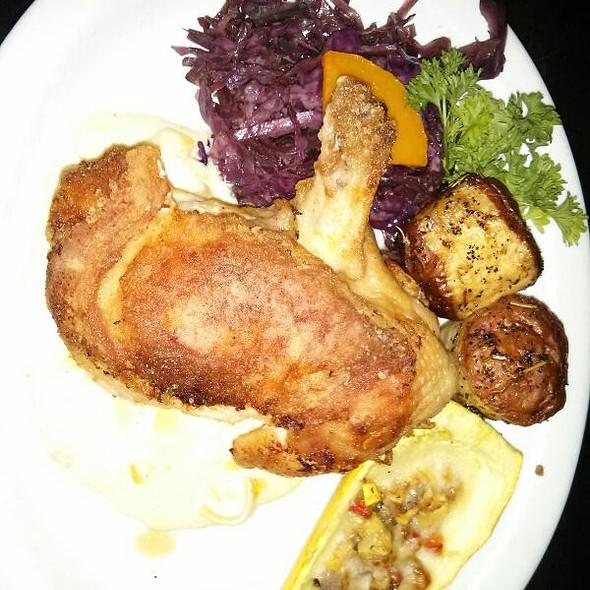Stuffed Baked Chicken - Brave New Restaurant, Little Rock, AR