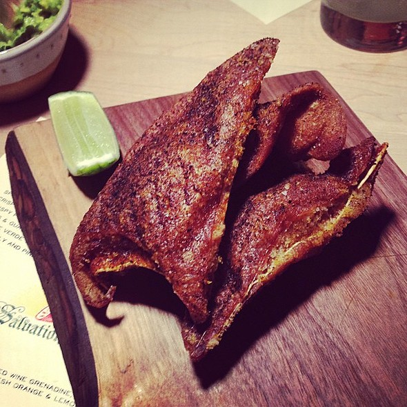 Crispy Pig Ears @ Salvation Taco