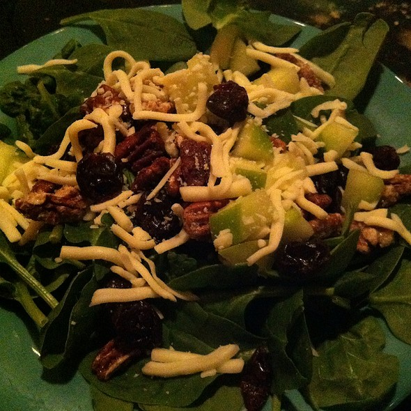 Enlightened Spinach Salad