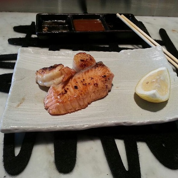 Salmon And Prawns @ Wharf Teppanyaki