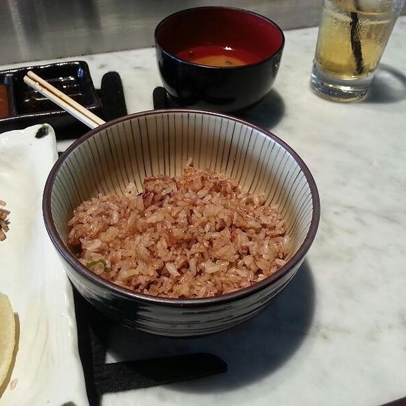 Garlic Rice @ Wharf Teppanyaki