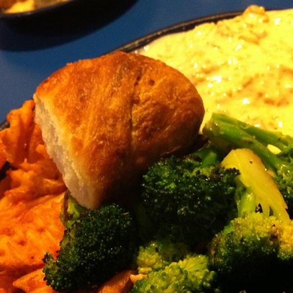 Meatless Loaf Of God @ Monty's Blue Plate Diner