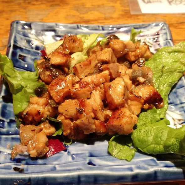 Bbq Eel, Mushroom And Rice Gratin @ Guu Izakaya Japanese Restaurant