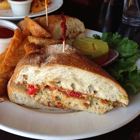 Crabcake Sandwich @ Sudwerk Riverside Restaurant