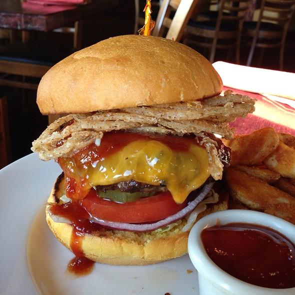 BBQ Burger @ Sudwerk Riverside Restaurant