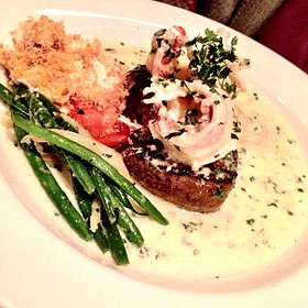 Seared Tenderloin With Butter Poached Lobster Tail  - The Capital Grille - Scottsdale, Scottsdale, AZ