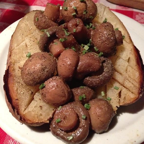 Baked Potato @ Texas Reds Steakhouse & Saloon