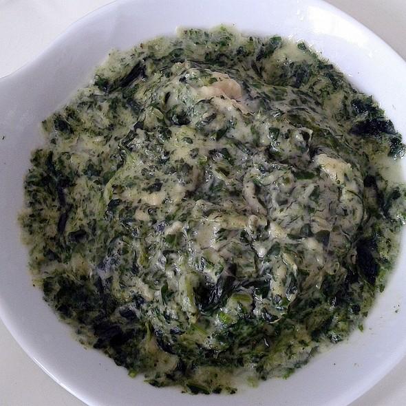 Creamed Spinach @ Churchilita solita