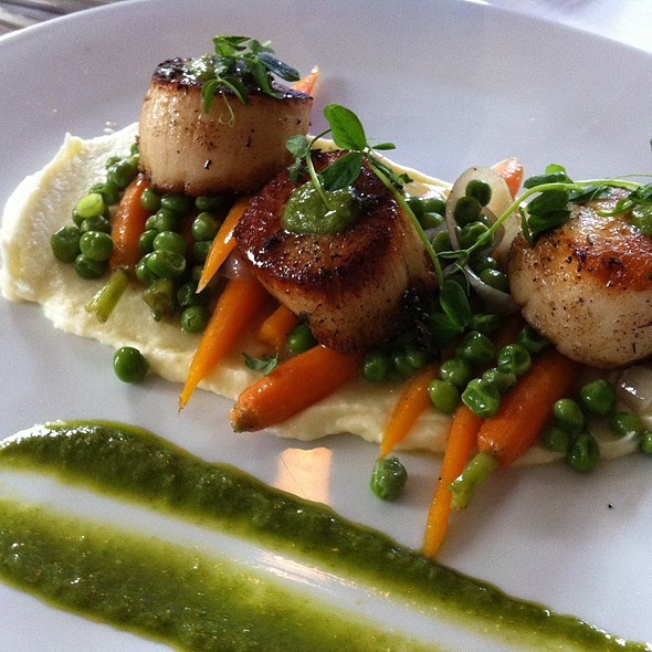 Scallops - Zebra's Bistro and Wine Bar, Medfield, MA