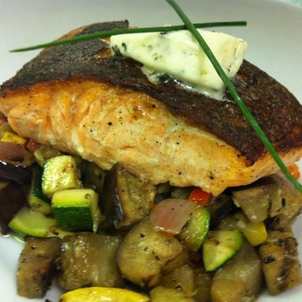 Salmon - Zebra's Bistro and Wine Bar, Medfield, MA