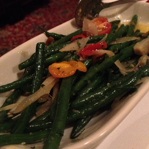 Green beans - The Capital Grille - Scottsdale, Scottsdale, AZ