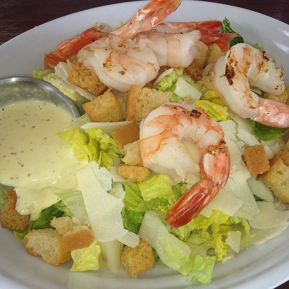 Caesar Salad With Shrimp @ Area 31