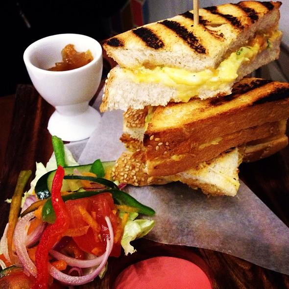 Grilled Cheese Sandwich @ Early Bird Breakfast Club