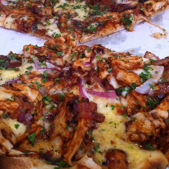 BBQ Chicken Pizza @ Red Grape Pizzeria