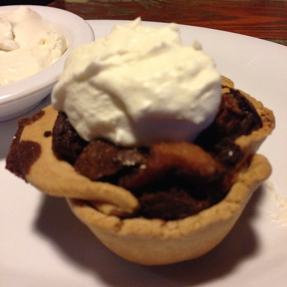 Bacon Chocolate Pie With Whiskey Whip Cream