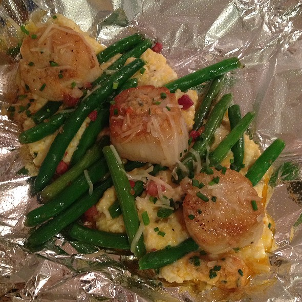 Seared Scallops - Equus and Jack's Lounge, Louisville, KY