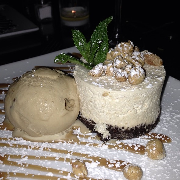 Peanut Butter Mousse With Malted Milk Ball Ice Cream