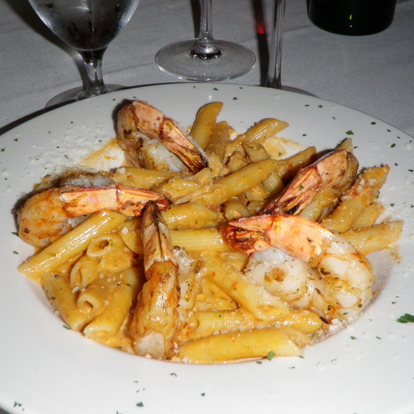 Shrimp over Penne Special - La Scala, Baltimore, MD