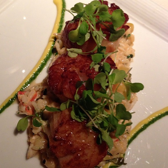 Seared Georges Bank Scallops - Abacus, Dallas, TX