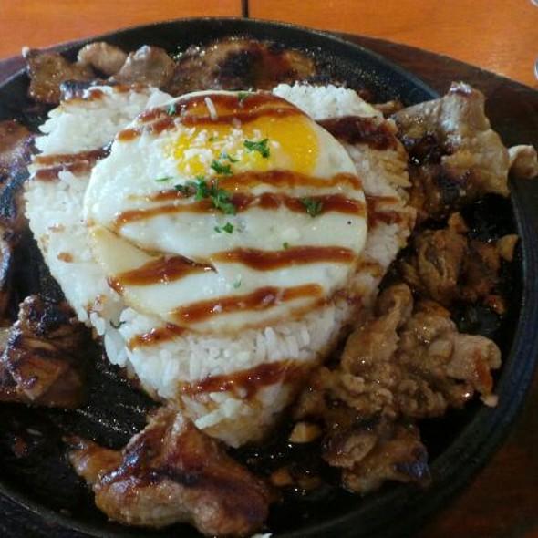 Pork Bbq Pepper Rice @ Sizzling Pepper Steak