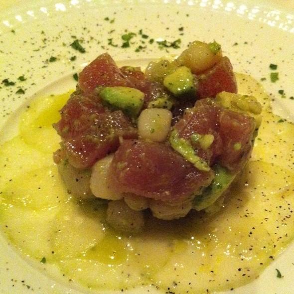 Tuna And Scallop Tartare - Ca Bianca, Santa Rosa, CA