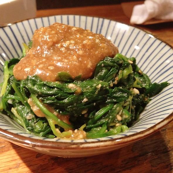 Spinach Gomae @ Guu Izakaya Japanese Restaurant