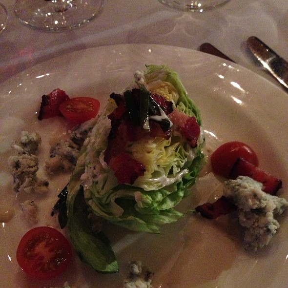 BLT wedge Salad @ Beano's Cabin