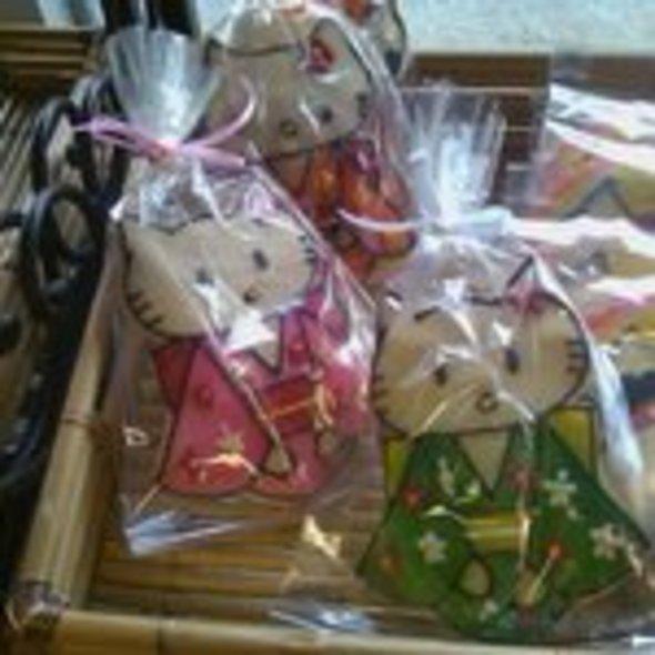 Hello Kitty Shortbread Cookies @ Liliha Bakery