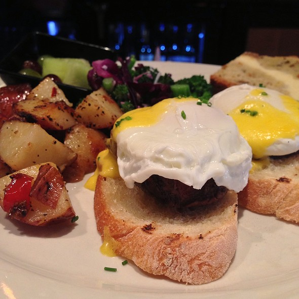 Eggs Benedict - Tano Bistro & Catering, Loveland, OH