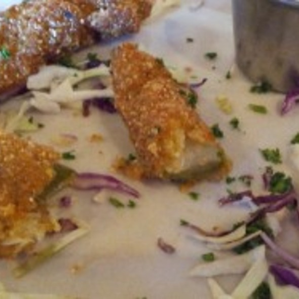 Fried Pickles @ Two Step Restaurant & Cantina