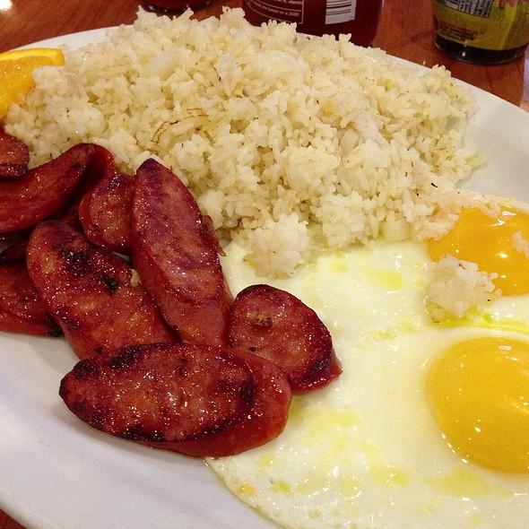 Portuguese Sausage and Eggs @ BabyStacks Cafe #2