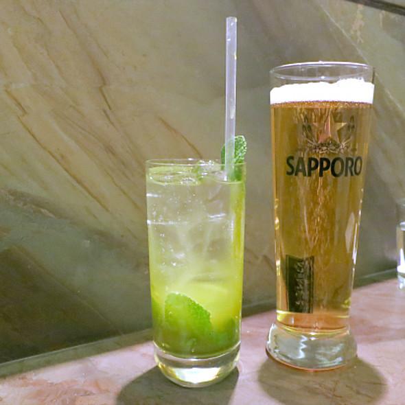Green Tea Mojito @ JaBistro Modern Japanese
