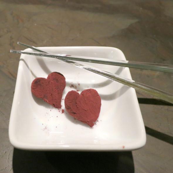 Housemade Calvados Soft Nama Chocolate @ JaBistro Modern Japanese
